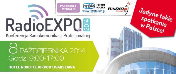 RadioEXPO 2014: Wystawa i Konferencja branży Radiokomunikacji Profesjonalnej